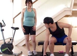 Asian Gym Mega-slut Has Fat Cupcakes..