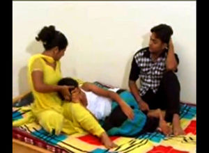Little girl indian girs instruct how..